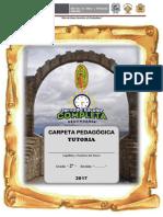 CARPETA PEDAGÓGICA TUTORIA