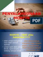 PENYALAHGUNAAN MORFIN.pptx