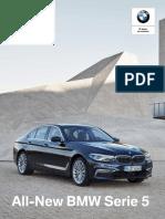 Ficha técnica All-New BMW 520d Executive