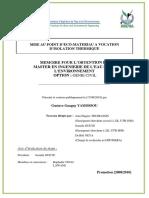 Rapport Memoire Gustave Yamossou