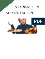 SEDENTARISMO & ALIMENTACIÓN