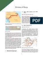Division of Korea