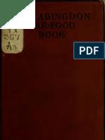 (1918) The Abingdon War-food Book
