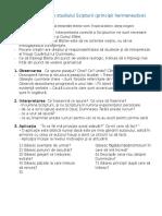 Elemente de Baza Ale Studiului Scipturii - De La Petrica