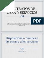 Contrato de Obra y Servicios