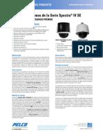 Spectra IV SE Series Specification Sheet - Spanish