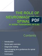 THE ROLE OF NEUROIMAGING IN SPINAL PAIN MANAGEMENT.ppt