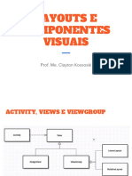 Android Layouts e Componentes Visuais
