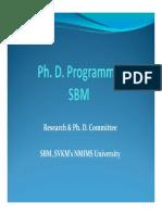 sbm-phd