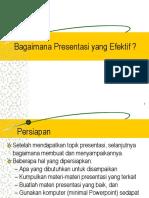 4 Presentasi Yang Effektif