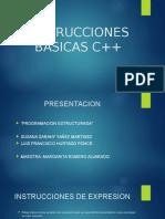 Instrucciones Basicas c