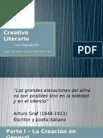 El Proceso Creativo Literario