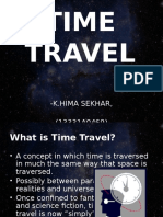 TIME TRAVEL