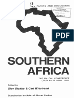The UN-OAU Conference on Southern Africa_1973