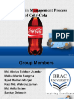 Presentation on Supply chain management of CocaCola. ppt