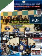 Memoria de Gestión - Evidencias Fotográficas Del CBP CRXV 2013-151