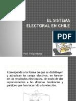 El Sistema Electoral en Chile