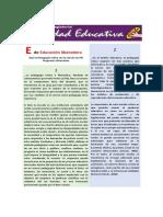 Que La Pedagogía Crítica Sea La Raíz de Los PEI