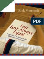 Rick Wormeli-Fair Isn't Always Equal (2006)