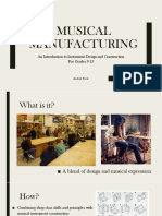musical manufacturing