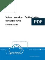 Voice Service Optimization for Multi-RAB