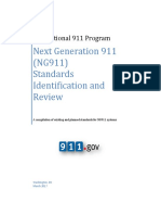 NG911 Standards Identification and Analysis