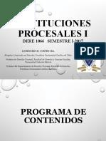 1 Instituciones Procesales I.ppt