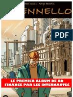 Il Pennello, un album de bande dessinee d'Allais et Perrotin, aux editions Sandawe