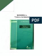 Romero, Luis Alberto, Volver a la historia.pdf