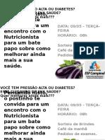 CONVITE NUTRICIONISTA
