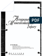 Acupuncture for Muculoskeletal Injury
