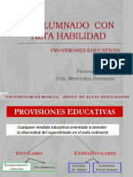 Provisiones Educativas