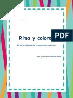Conciencia Fonologica Rima y Colorea