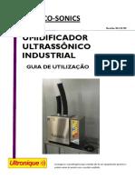 Manual Umidificador Ultrassonico