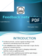 Feed1back Networks