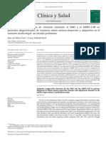 Detección de exageración de síntomas mediante el SIMS y el MMPI-2-RF en pacientes diagnosticados de trastorno mixto ansioso-depresivo y adaptativo en el contexto medicolegal