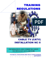 TR - Cable TV Installation NC II