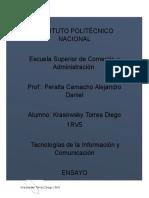 Ensayo TICs Krasowsky Torres Diego