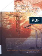 Design of Pile Foundations in Liquefiable Soils - By G Madabhushi 2010
