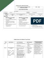 Planificación Curricular Anual Inicial