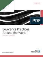 Severance Practices Around the World