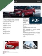 Audi A5 Sportback Sport 190hp - 2017