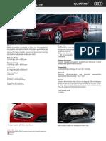 Audi A5 Sportback Sport 252hp - 2017