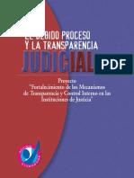 Debido Proceso Penal y Transparencia Judicial