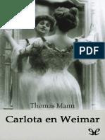 Carlota en Weimar - Thomas Mann