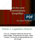 articles and amendments