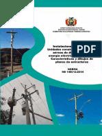 NB 148012 2014 Unidades Constructivas de RADEE 34.5-19.9 KV