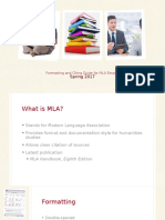formatting and citing guide for mla essays