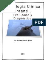 Psicología Clínica Infantil. Evaluación y Diagnostico - Aurora García Morey