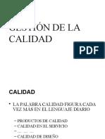 [PD] Presentaciones - Gestion de La Calidad